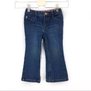 Genuine Kids Girls 2T Flare Bootcut Jeans